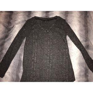 Black Speckled Long Sleeve